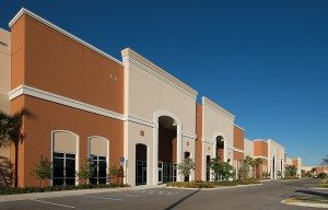 A building in the Miramar Center Business Park